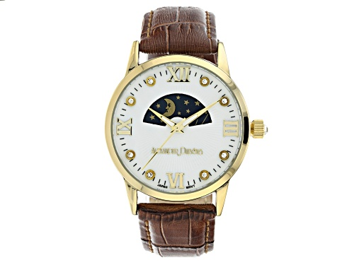 Photo of Alexander Dubois Ladies Leather Watch With White Dial