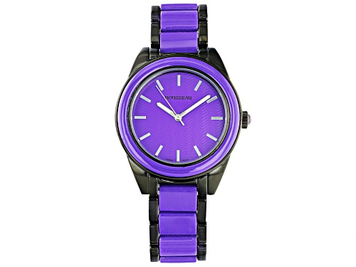 Photo of Rousseau Ladies Watch With Purple Dial