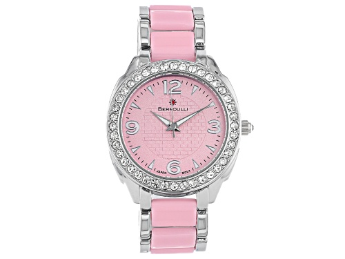 Photo of Bernoulli Ladies Watch With Pink Dial