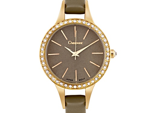 Photo of Chamount Classic Ladies Watch With Brown Dial