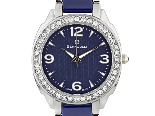 Photo of Bernoulli Daeva Ladies Watch with Silver and Navy Dial