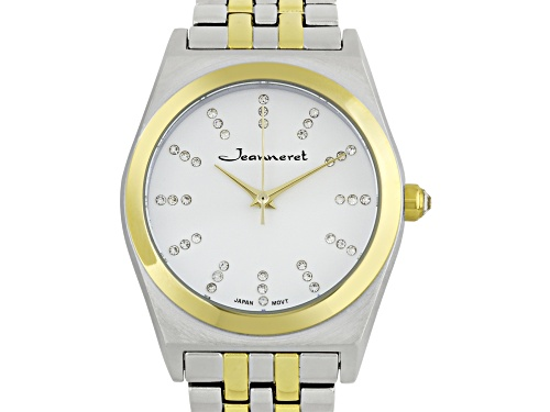 Photo of Jeanneret Elbe Ladies Watch Two Tone Silver/Gold Bracelet  White Dial