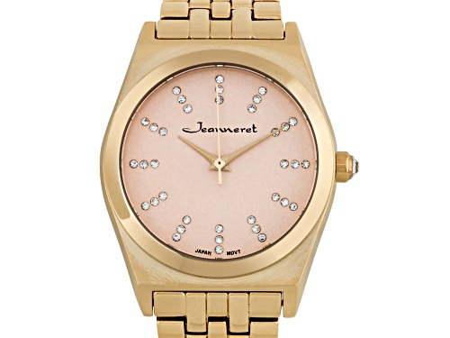 Photo of Jeanneret Elbe Ladies Watch Rose Gold Bracelet Rose Gold Dial
