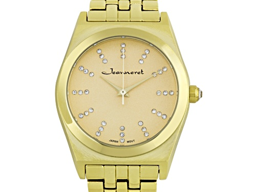 Photo of Jeanneret Elbe Ladies Watch with Gold Dial
