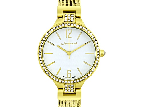 Photo of Jeanneret Jura Ladies Watch Gold-Tone Mesh Band