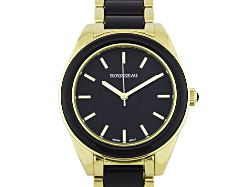 Photo of Rousseau Kemora Ladies Watch Gold-Tone And Black