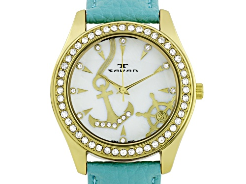 Photo of Tavan Nautical Ladies Watch Teal And White
