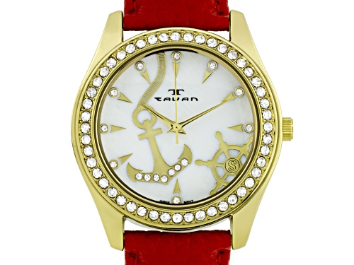 Photo of Tavan Nautical Ladies Watch Red And White