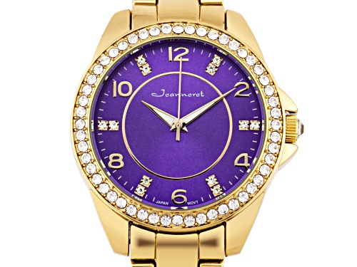 Photo of Jeanneret Rosetta Ladies Watch Rose And Purple