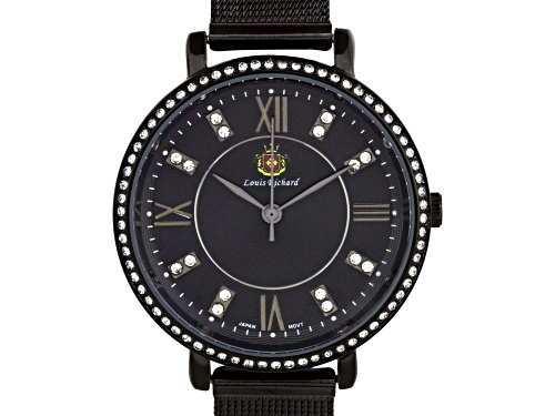 Louis Richard Roslin Ladies Watch Black