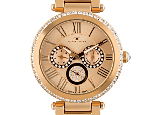 Tavan Seven Seas Multi-Function Ladies Watch Rose