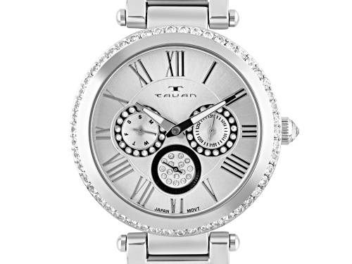 Photo of Tavan Seven Seas Multi-Function Ladies Watch Silver-Tone