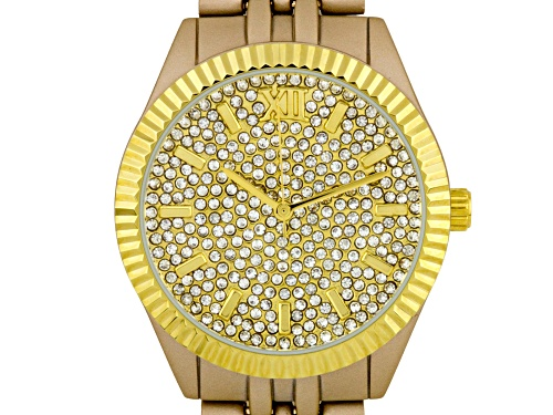 Photo of Picard & Cie Summer's Gleam Ladies Watch Beige And Gold-Tone