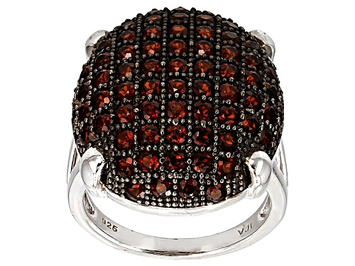 Photo of 3.16ctw Round Vermelho Garnet™ Sterling Silver Dome Ring - Size 5