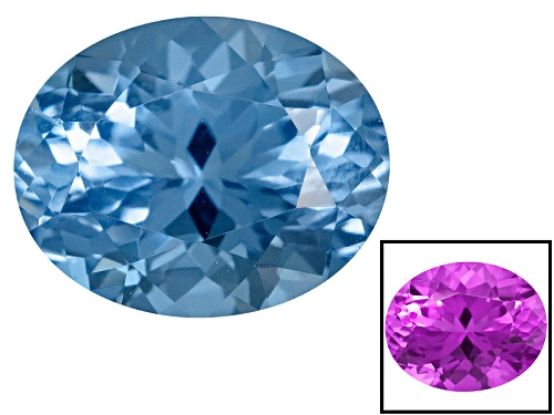 Photo of Zandrite® Color Change Blue To Purple Avg 2.50ct 10x8mm Oval