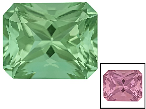 Photo of Zandrite ® Color Change Green To Pink Avg 4.00ct 10x8mm Rectangular Octagonal Radiant Cut