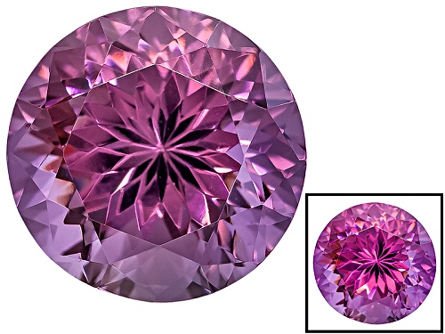 Photo of Cranberry Zandrite ® Color Change Avg 3.35ct 9mm Round
