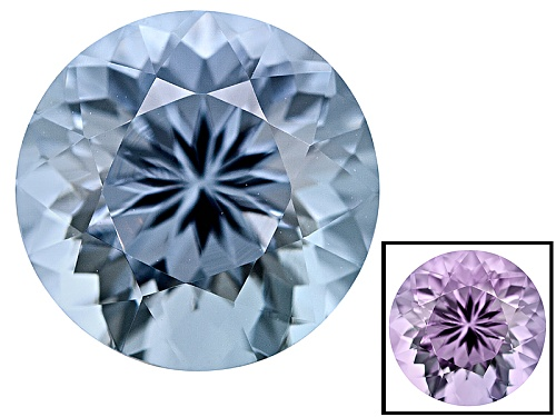 Photo of Zandrite ® Color Change Blue To Lavender Avg 1.75ct 8mm Round