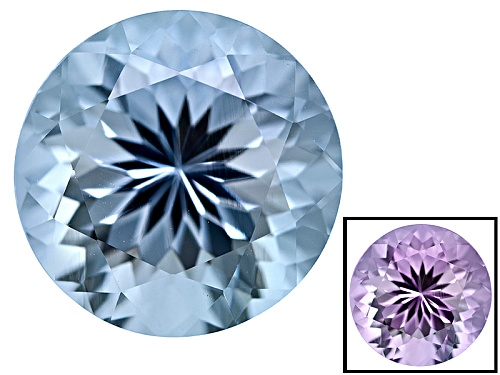 Photo of Zandrite ® Color Change Blue To Lavender Avg 3.50ct 10mm Round
