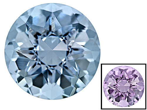 Photo of Zandrite ® Color Change Blue To Lavender Avg 5.75ct 12mm Round