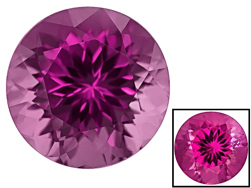 Photo of Cranberry Zandrite® Color Change Avg 8.25ct 12mm Round