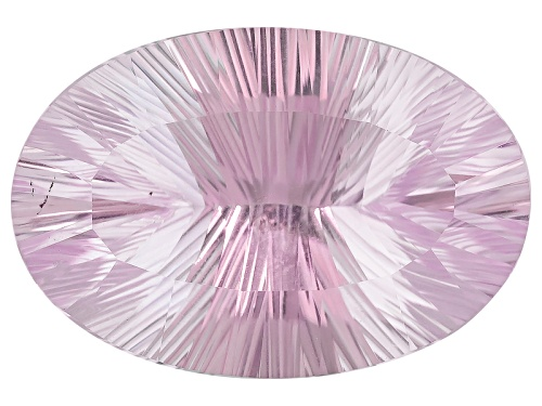 Photo of Kadenze™ Collection Brazilian Kunzite 39.63ct 27.75x19mm Oval Quantum Cut®