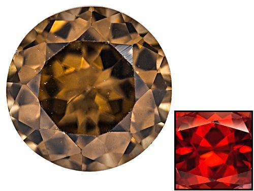 Photo of Nigerian Thermochromic Zircon Min 1.00ct Mm Varies Round Color Varies Caution:Heat Sensitive