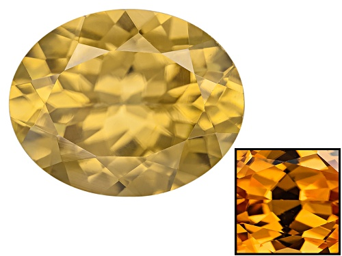 Photo of Tanzanian Reserve Zircon Min 3.25ct 10x8mm Oval Color Varies Caution:Heat Sensitive