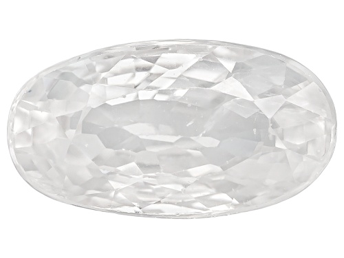 Photo of Tanzanian White Zircon Minimum 4.00 9x6mm Minimum Mm Varies Oval