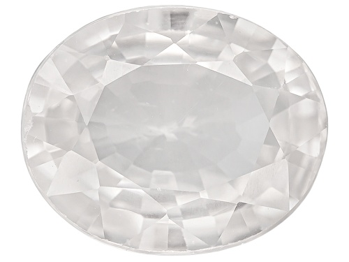 Photo of Tanzanian White Zircon Minimum 3.25ct 10x8mm Oval Diamond Cut