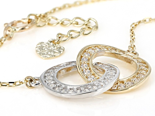 Bella Luce ® 0.50ctw 10k Yellow Gold Necklace (0.28ctw DEW) - Size 18