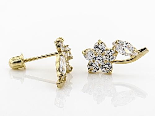 Bella Luce® 0.29ctw 14k Yellow Gold Earrings