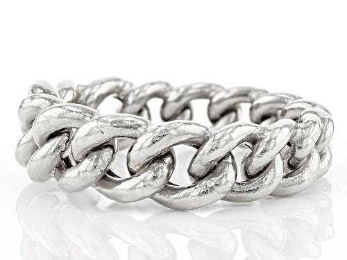 14k White Gold Grumetta Ring - Size 7
