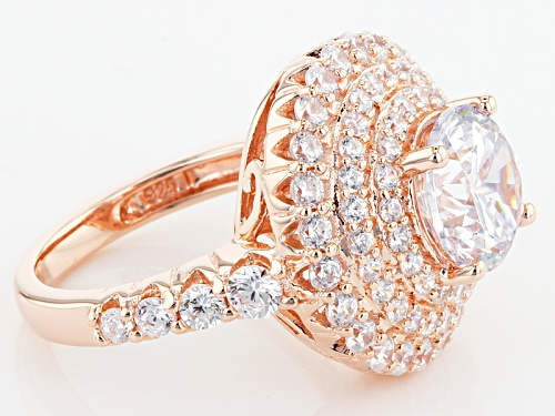 Pre-Owned Bella Luce ® 8.01ctw Eterno ™ Rose Ring (4.64ctw Dew) - Size 9