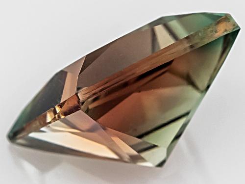 Bi-Color Oregon Sunstone From Butte Mine 1.90ct Minimum 8mm Square Princess Cut Color Varies