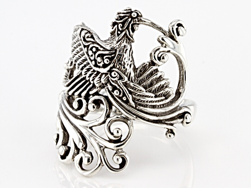 Artisan Collection Of Bali™ Sterling Silver Hummingbird Ring - Size 8