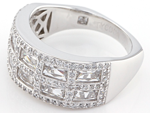 Tycoon For Bella Luce ® 3.87ctw Platineve ™ Ring (2.51ctw Dew) - Size 10