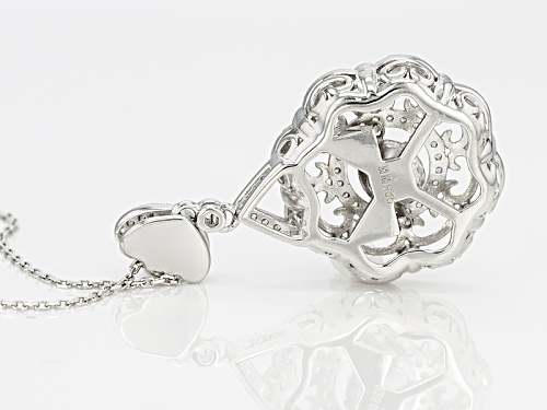 Bella Luce ® 2.87ctw Rhodium Over Sterling Silver