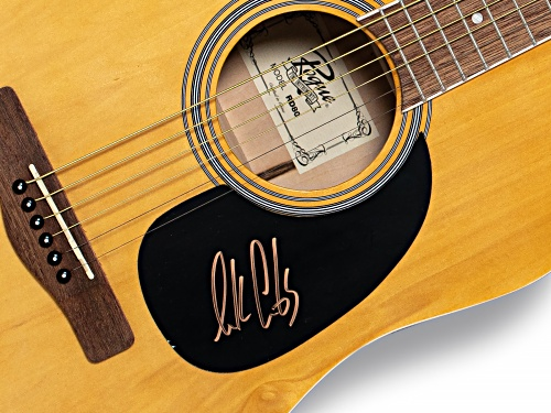 Back the Beat: Autographed Luke Combs Guitar