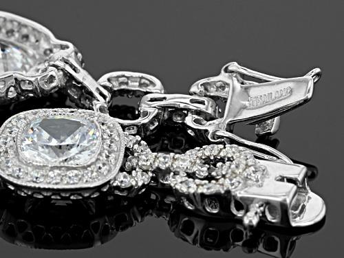 Bella Luce ® 26.22ctw Rhodium Over Sterling Silver Bracelet - Size 7.5