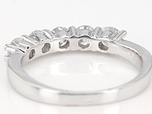1.00ctw Round White Diamond 14k White Gold Ring - Size 7