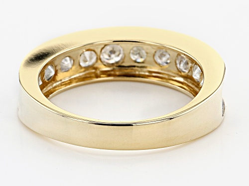 Pre-Owned 1.00ctw Round White Diamond 14K Yellow Gold Band Ring - Size 5