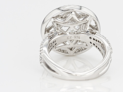 Tycoon For Bella Luce ® 2.81ctw Platineve ™ Ring (1.76ctw Dew) - Size 10