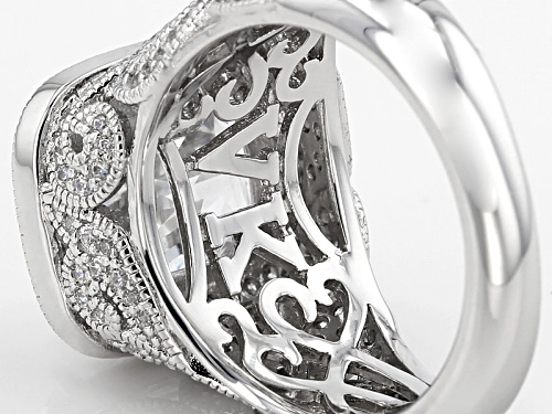 Vanna K ™ For Bella Luce ® 8.09ctw Platineve® Ring (5.88ctw Dew) - Size 7