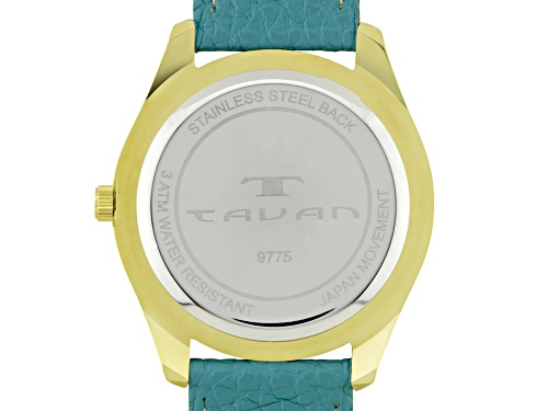 Tavan Nautical Ladies Watch Teal And White