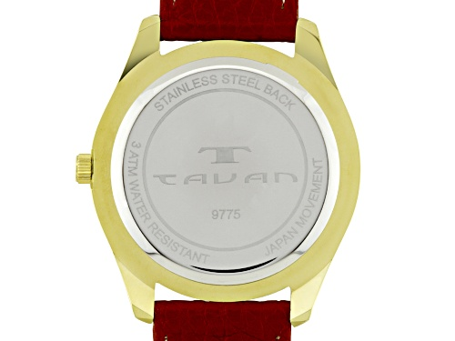 Tavan Nautical Ladies Watch Red And White