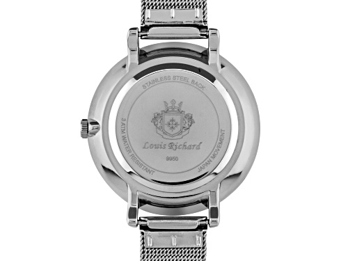 Louis Richard Roslin Ladies Watch Silver-Tone