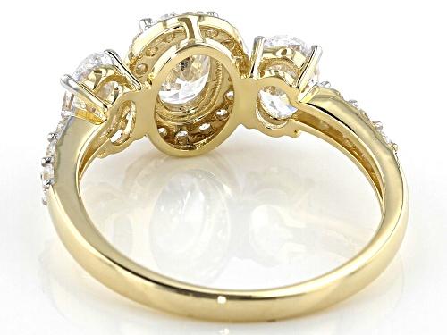 Bella Luce ® 3.86ctw 10k Yellow Gold Ring (2.08ctw DEW) - Size 8