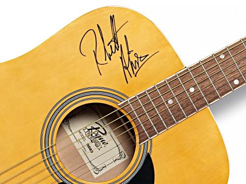 Back The Beat: Autographed Thomas Rhett and Rhett Akins Guitar