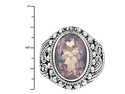 Artisan Gem Collection Of Bali™ 4.89ct Oval Lavender Quartz Sterling Silver Solitaire Ring - Size 5